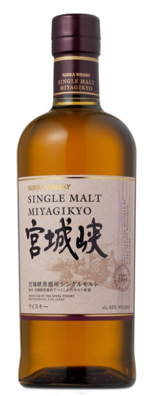 MIYAGIKYO Single Malt 45% | Whisky Japonais