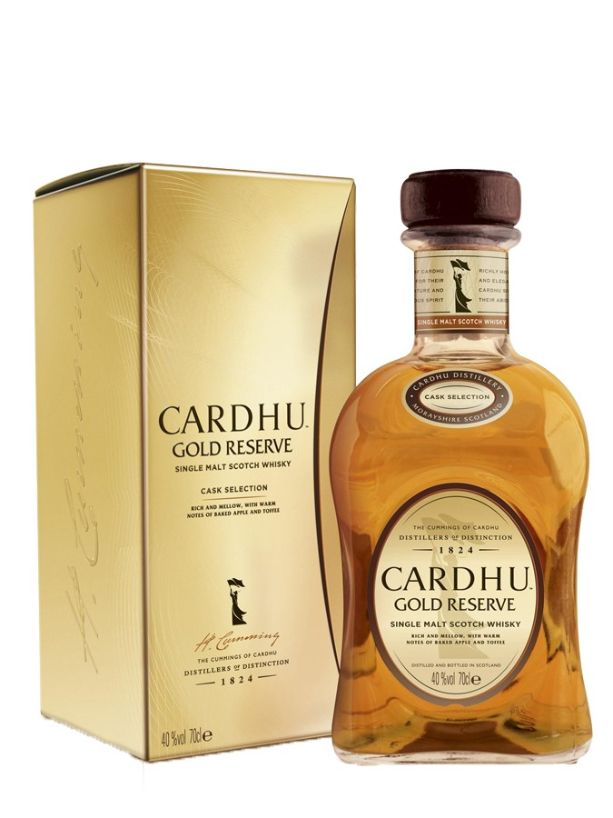 CARDHU Gold Reserve 40% | Single Malt Whisky