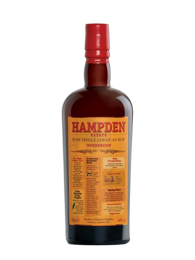 HAMPDEN Overproof 60% | Rhum Traditionnel