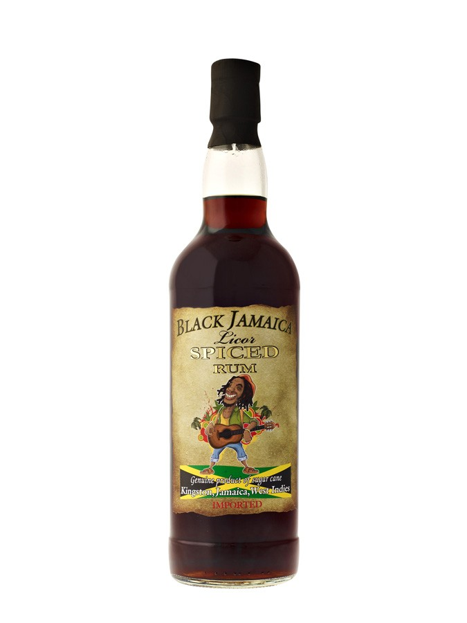 BLACK JAMAICA Spiced Rum 35% | Rhum
