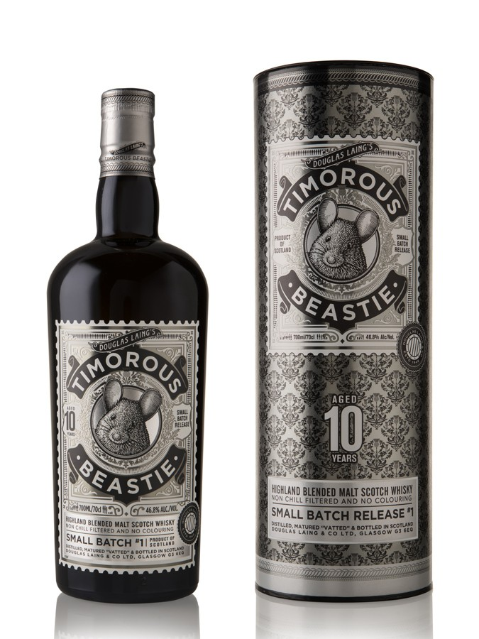 TIMOROUS BEASTIE 10 ans 46,8% | Blended Whisky