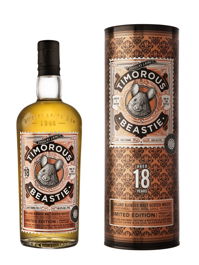 TIMOROUS BEASTIE 18 ans 46,8% | Blended Whisky