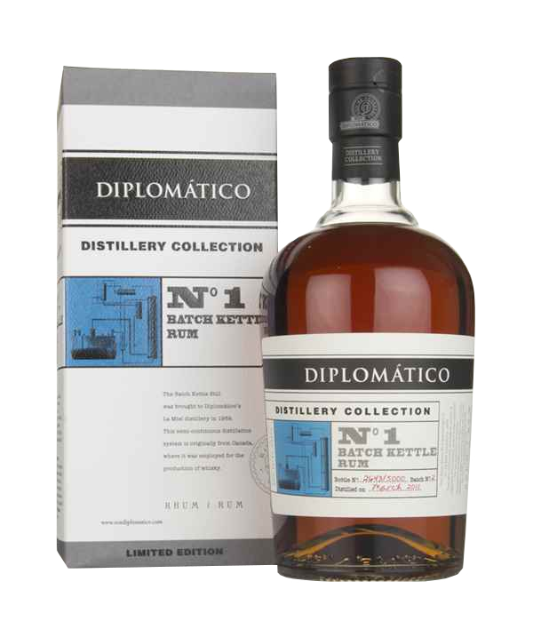 DIPLOMATICO N°1 Batch Kettle Rum 47% | Rhum Traditionnel, Venezuela