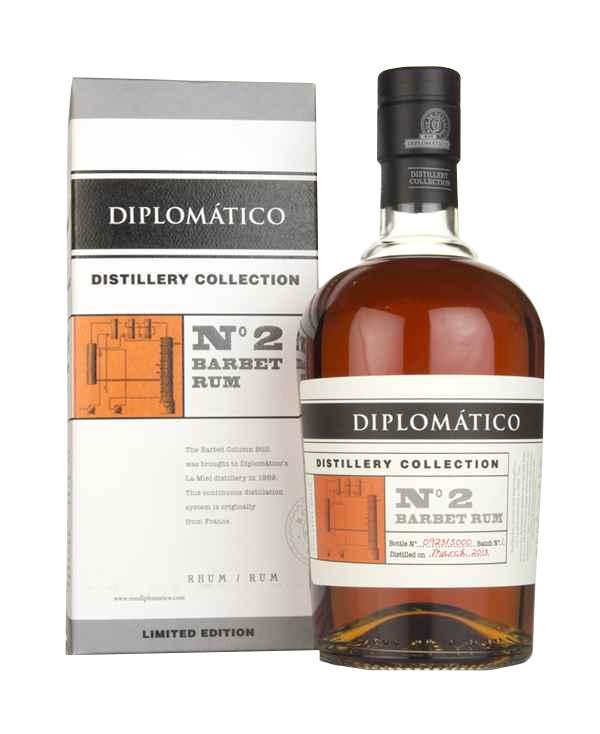 DIPLOMATICO N°2 Barbet Rum 47% | Rhum Traditionnel, Venezuela