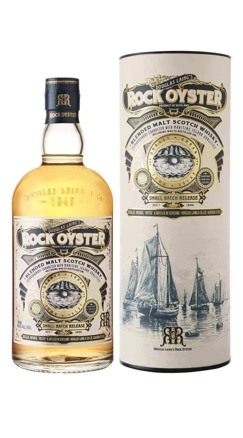 ROCK OYSTER 46,8% | Blended Whisky