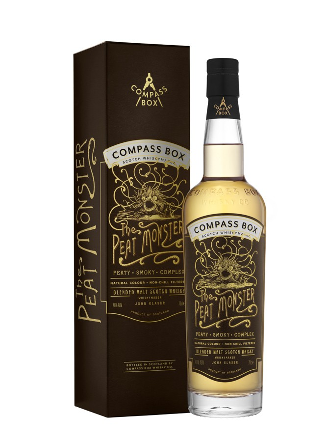 THE PEAT MONSTER Blend Whisky 46% | Whisky Tourbé