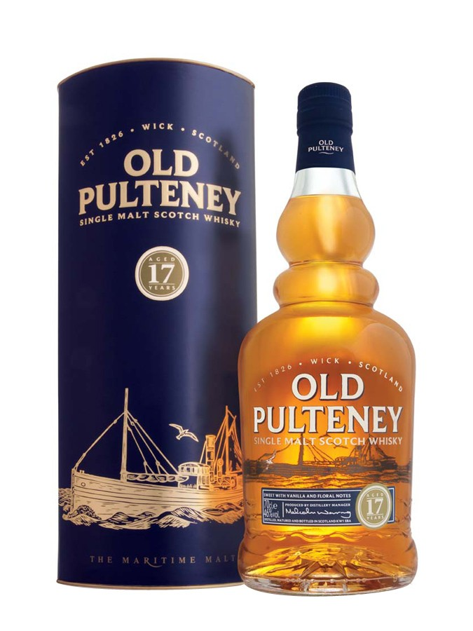 OLD PULTENEY 17 ans 46% | Single Malt Whisky, Highlands