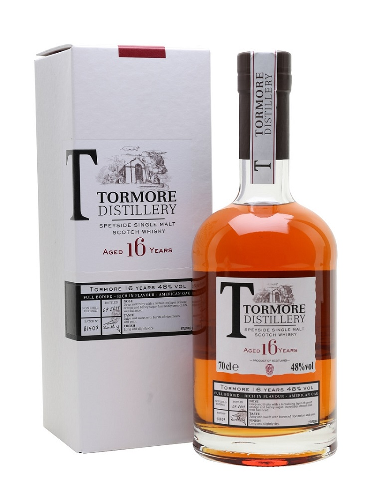TORMORE 16 ans 48% | Single Malt Whisy