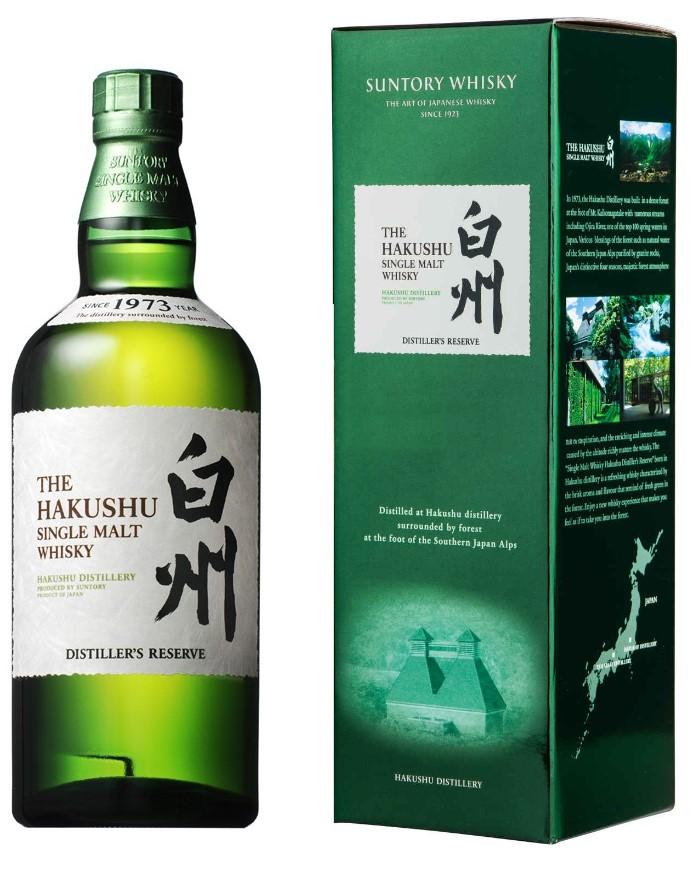 HAKUSHU Distiller\'s Reserve 43% | Whisky Japonais