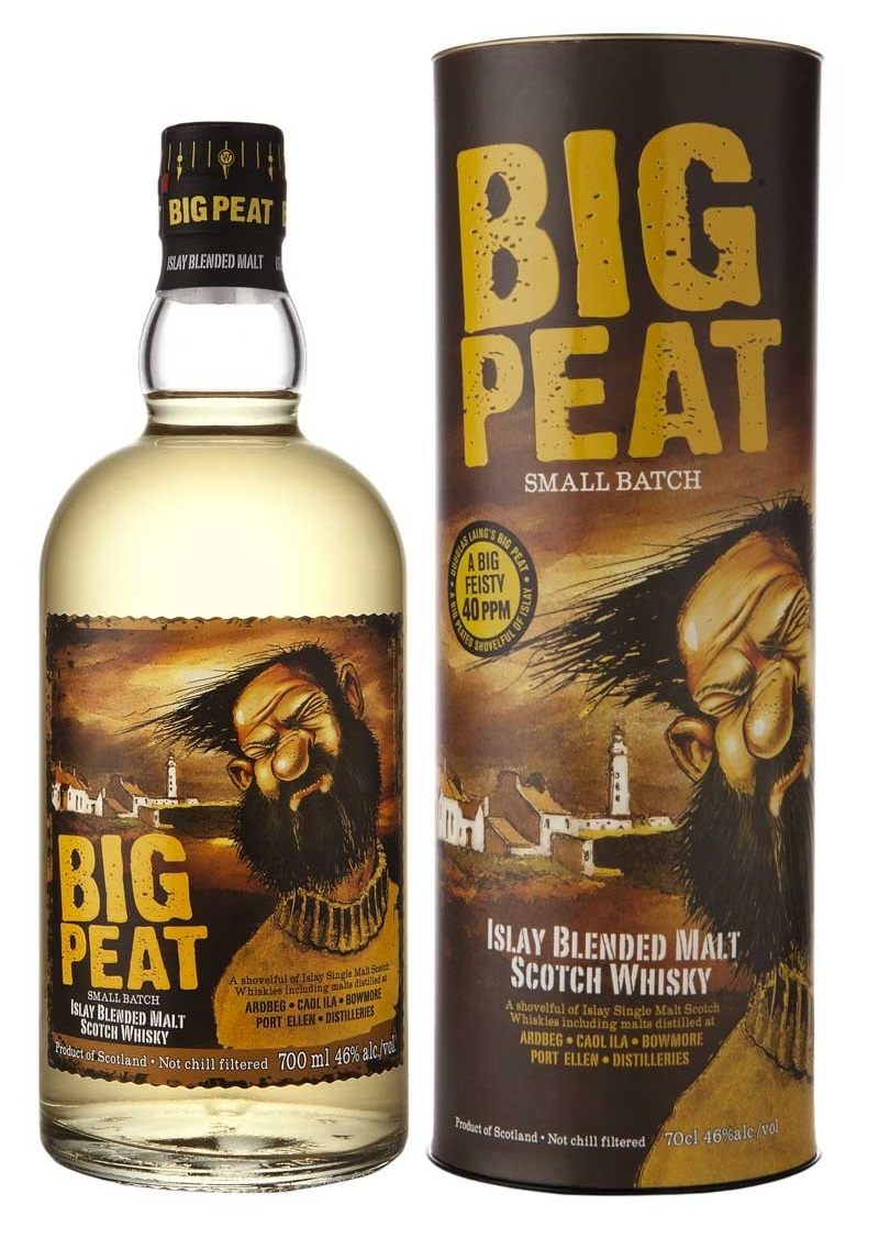 BIG PEAT Blended Whisky 46% | Whisky tourbé