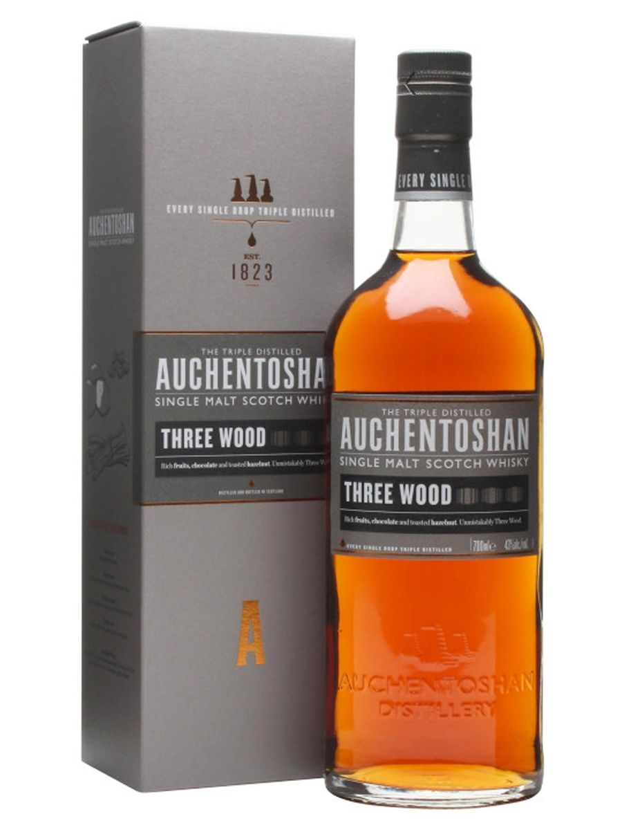 AUCHENTOSHAN Three Wood 43% | Single Malt Whisky, Lowlands