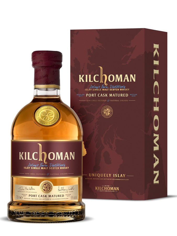 KILCHOMAN Port Cask Matured 2nd Edition 50% | Single Malt Whisky Tourbé