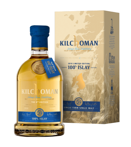 KILCHOMAN 100% Islay Release 8th Edition 50% | Single Malt Whisky Tourbé