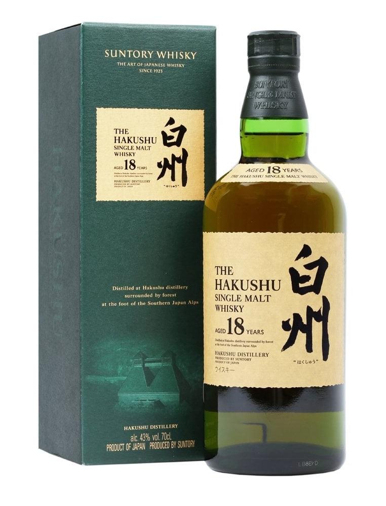 HAKUSHU 18 ans 43% | Whisky Japonais