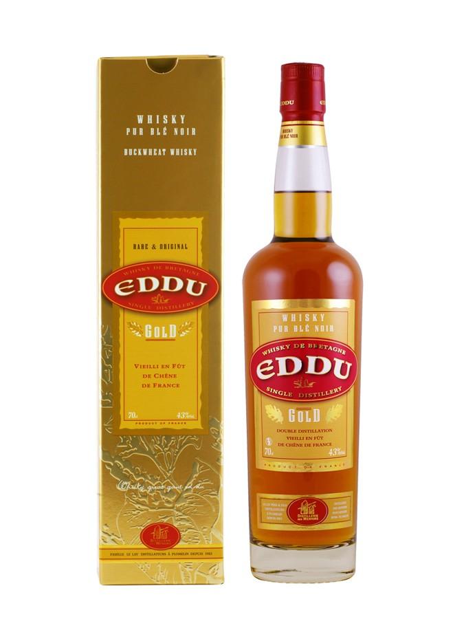 EDDU Gold 43% | Whisky Breton