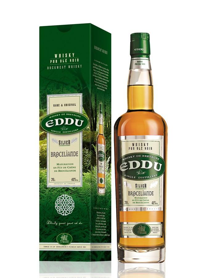 EDDU Silver Broceliande 42% | Whisky Breton