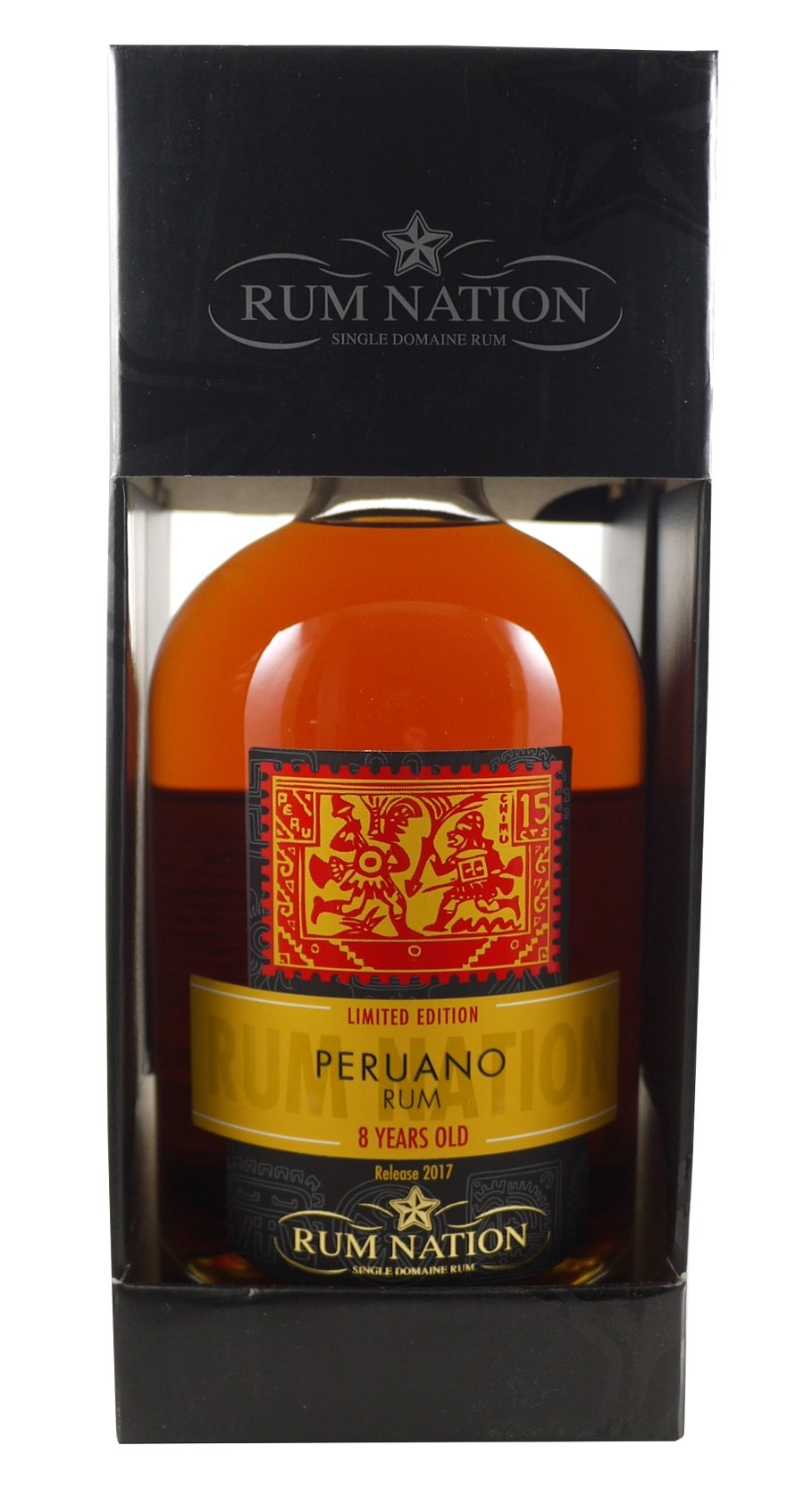 RUM NATION 8 ans Peruano 42% | Rhum Traditionnel