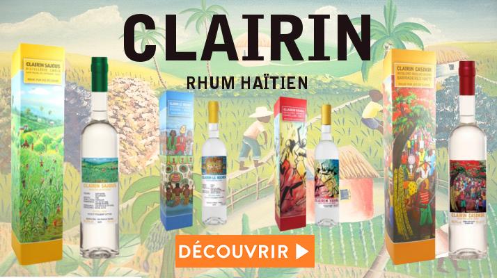 CLAIRIN Rhum Haïtien