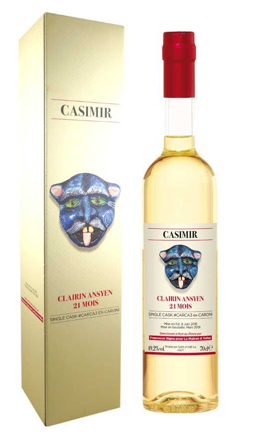 CLAIRIN 21 mois 2015 Ansyen Casimir Single Cask #CARCA3 49,2%