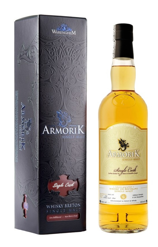 ARMORIK 6 ans 2011 Chène Neuf Cellar Book 55% | Whisky Breton