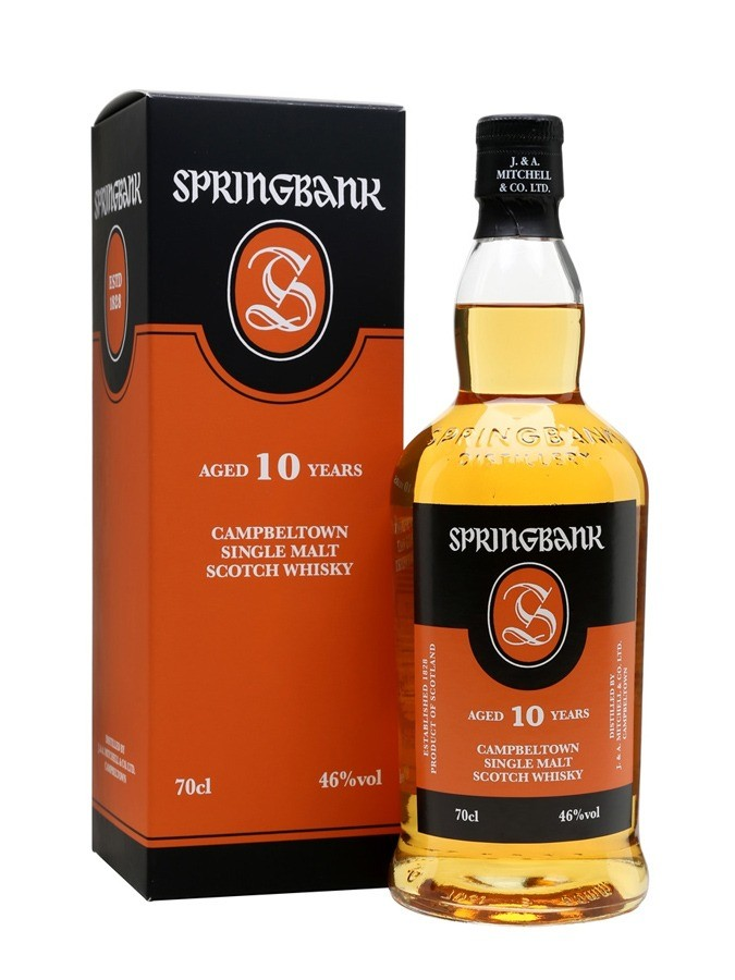SPRINGBANK 10 ans 46% | Single Malt Whisky, Campbeltown