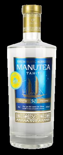 MANUTEA Rhum Pur Jus de Canne 50% | Rhum de Tahiti