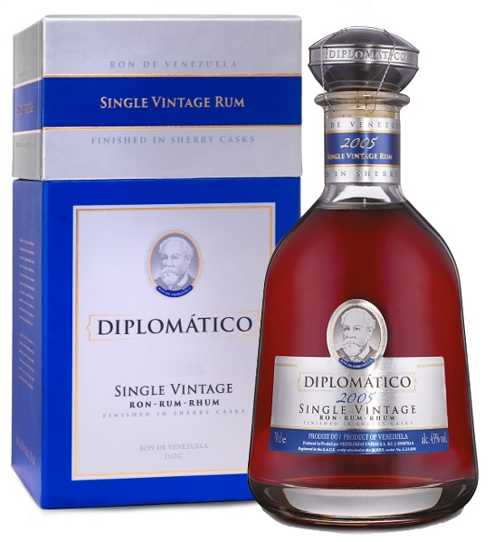 DIPLOMATICO Single Vintage 2005 43% | Rhum Venezuela