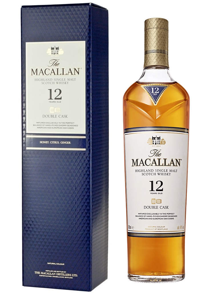 MACALLAN 12 ans Double Cask 40% | Single Malt Whisky