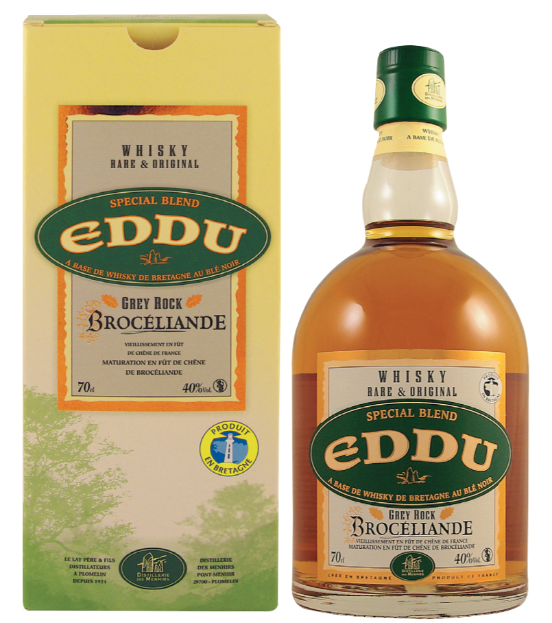 EDDU Grey Rock Broceliande 40% | Whisky Breton