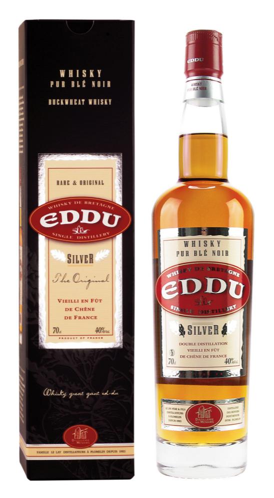 DISTILLERIE DES MENHIRS Eddu Silver 40% | Whisky Breton