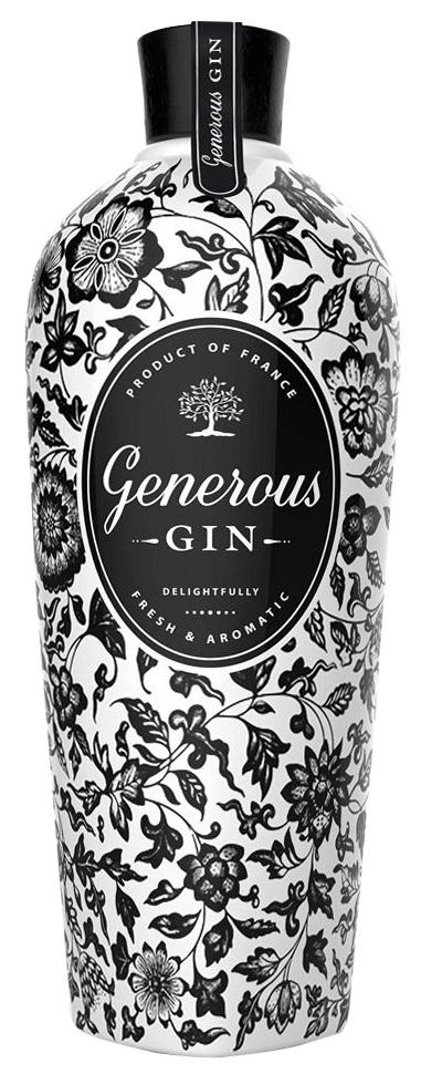 GENEROUS Gin 44% | Gin Artisanal Français