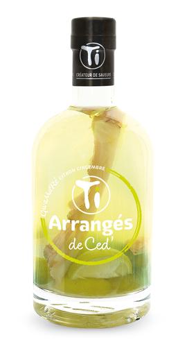 TI RHUMS DE CED Gwamare Citron Gingembre 32% | Rhum Arrangé