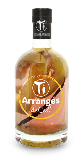 TI RHUMS DE CED Mangue Passion 32% | Rhum Arrangé