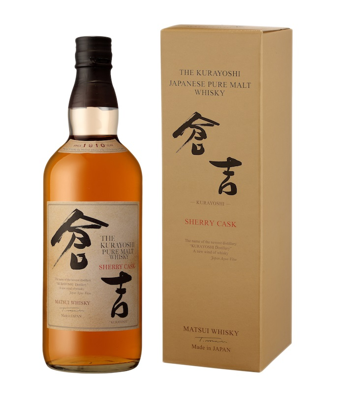 THE KURAYOSHI Sherry Cask 43% | Whisky Japonais