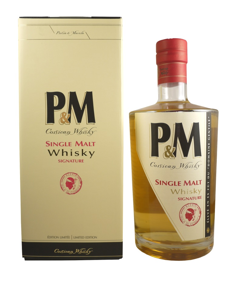 P&M Single Malt Signature 42% | Whisky Corse
