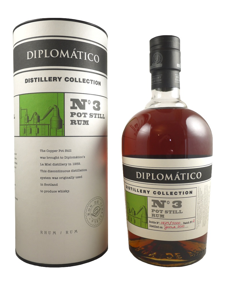 DIPLOMATICO N°3 Pot Still Rum 47% | Rhum Traditionnel