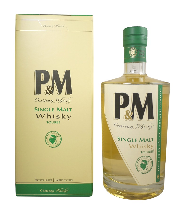 P&M Single Malt Tourbé 42% | Whisky Corse