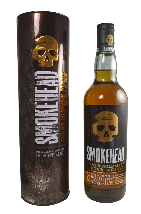 SMOKEHEAD 43% | Whisky Tourbé
