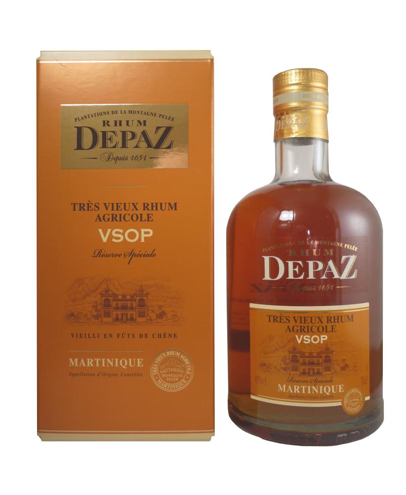 DEPAZ VSOP 45% | Rhum Vieux Agricole