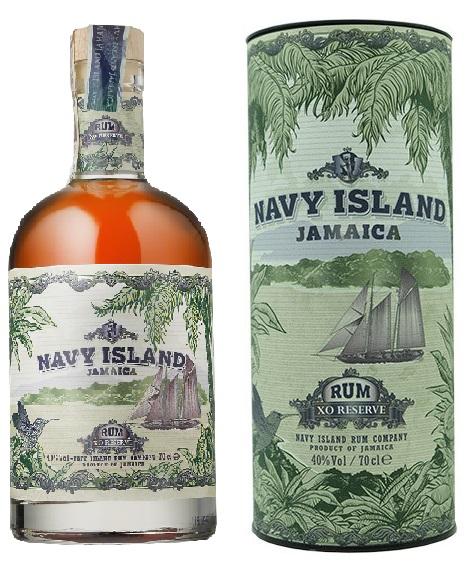 NAVY ISLAND Jamaïca XO Reserve 40% | Rhum vieux
