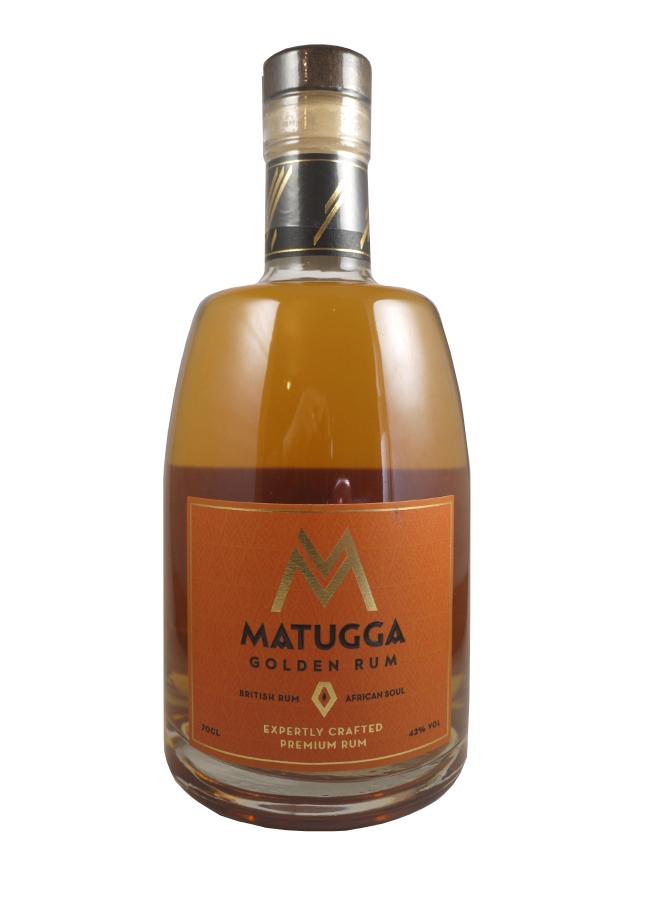 MATUGGA Golden Rum 42% | Rhum Africain