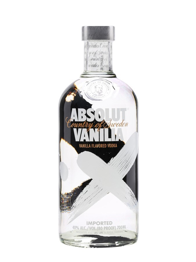 ABSOLUT Vanilia 40%  Vodka Aromatisée