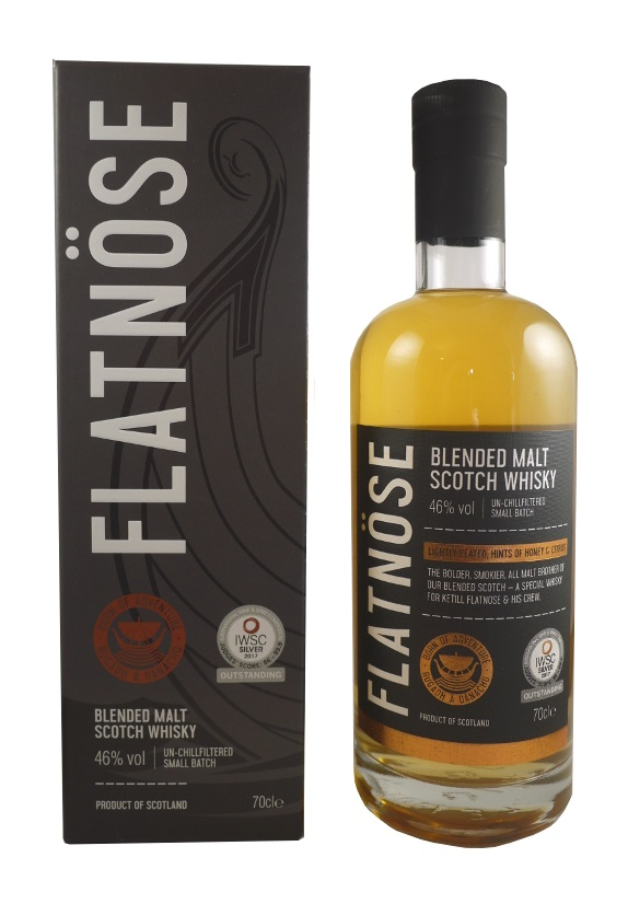 FLATNÖSE Blended Malt Scotch Whisky 46% | Whisky Blend, Islay