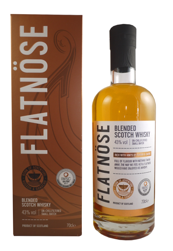 FLATNÖSE Blended Scotch Whisky 43% | Whisky Blend, Islay