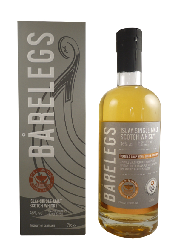 BARELEGS Islay Single Malt Scotch Whisky 46% | Whisky Tourbé