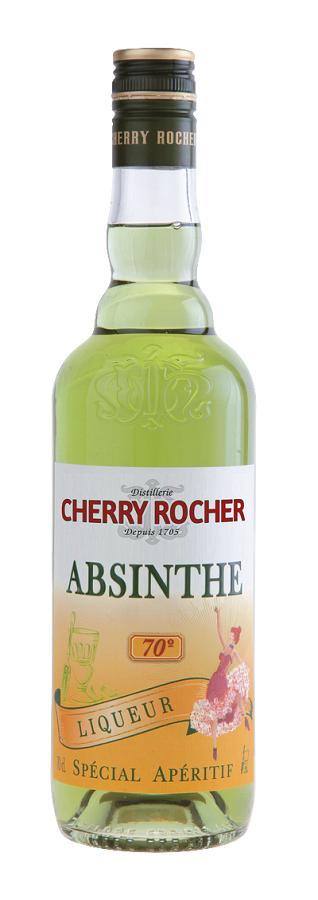 ABSINTHE L\'HERMITAGE Cherry Rocher 70% | Liqueur d\'Absinthe
