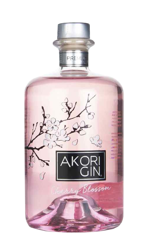 akori sherry blossom gin rosé