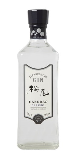 SAKURAO Classic 40% | Gin Japonais