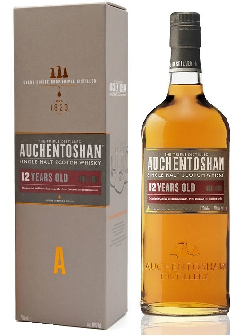 AUCHENTOSHAN 12 ans Single Malt Whisky, Lowlands