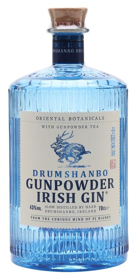 DRUMSHANBO GUNPOWDER 43% | Gin Irlandais 70cl